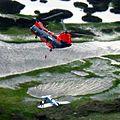 HH-46E of VMR-1 rescues Cessna crew 2006.jpg