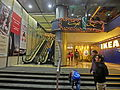HK CWB 記利佐治街 Great George Street night Park Lane Hotel shopping mall Sytle House entrance Dec-2013 Cafe One restaurant sign n IKEA stairs n escalators.JPG