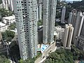 HK Kennedy Town 寶雅山 46A Belcher's Hill view 翰林軒 University Height swimming pool Smithfield June-2011.jpg
