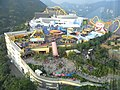 HK Ocean Park Tower view Polar Adventure Summit Plaza Whirly Bird Challenge Zone Rainforest Sep-2012.JPG