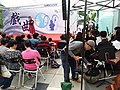 HK WC 灣仔 Wan Chai 香港演藝學院 HKAPA Campus 開放日 Open Day outdoor garden 中國戲曲表演 Chinese Opera song perform by students March 2019 SSG 06.jpg