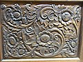 HK Wan Chai night 18-22 Hennessy Road Wing Cheong Building 03 Thai wood carving Nov-2012.JPG