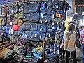 HK Yau Ma Tei 廟衙 夜市 攤販 Temple Street night 03 stall Apr-2013 handbags.JPG