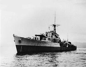 HMS Cassandra (R62) - Image: HMS Cassandra 1944 IWM F 7624