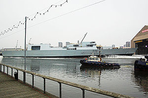 Yarrow Shipbuilders - Image: HMS Daring (D32)