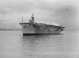 HMS Empress (D42) - HMS Empress