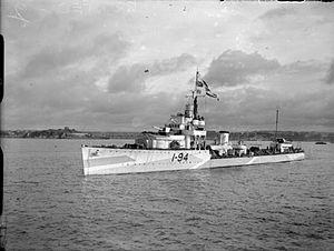 HMS Whitehall - HMS Whitehall (I94)