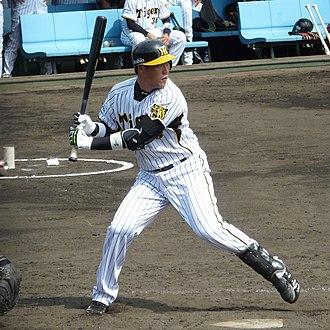 Kentaro Sekimoto - Sekimoto with the Hanshin Tigers