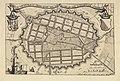 HUA-214182-Kaart van het uitbreidingsplan van de stad Utrecht van Everard Meyster; met weergave van de bestaande stad met stratenplan en bebouwing en de ontworpe.jpg