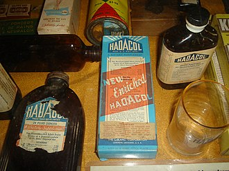 Hadacol - Old Hadacol box and bottles