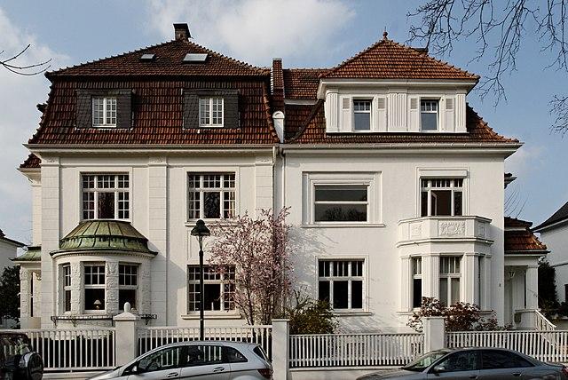 datei haeuser meliesallee 8 und 10 in duesseldorf benrath von wikipedia. Black Bedroom Furniture Sets. Home Design Ideas