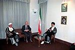 Hafez al-Assad visit to Iran, 1 August 1997 (6).jpg