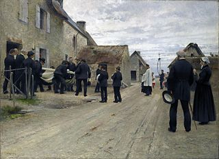 Burial of a Sailor in a Manche Village