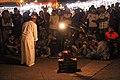 Hakawati ( the storyteller ) in the famous square of Marrakesh.jpg