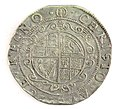 Halfcrown of Charles I - Counterfeit (YORYM-1995.109.52) reverse.jpg