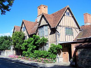 Halls Croft house owned by Shakespeares son-in-law in Stratford-on-Avon