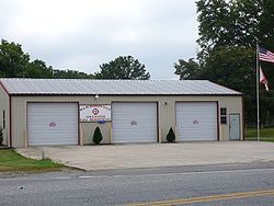 The Volunteer Fire Department in Hammondville, Alabama