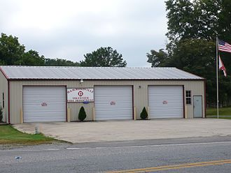 Hammondville, Alabama - The Volunteer Fire Department in Hammondville, Alabama