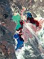 Hamoun Oasis wetlands 1976 satelite.jpg