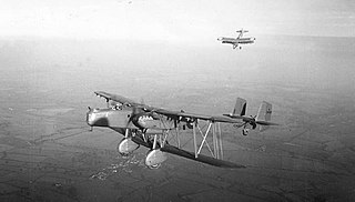 Handley Page Heyford heavy night bomber aircraft