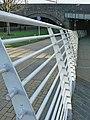 Handrail to Taff's Mead Embankment - Cardiff - geograph.org.uk - 1605203.jpg