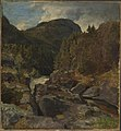 Hans Gude - Landscape with Waterfall - NG.M.00636-006 - National Museum of Art, Architecture and Design.jpg