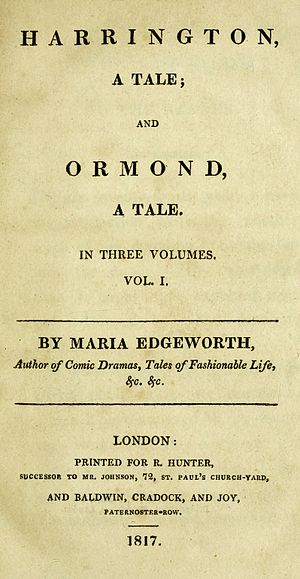 Harrington (novel) - First edition title page