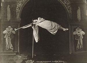 Adelaide Herrmann - Herrmann as Sleeping Beauty