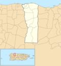 Hatillo, Puerto Rico locator map.png