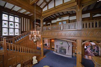 Hatley Park National Historic Site - Main Hall of Hatley Castle