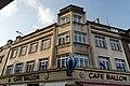 Haus Sistenichstrasse 2, Benrather Marktplatz 6 in Duesseldorf-Benrath, von Sueden.jpg