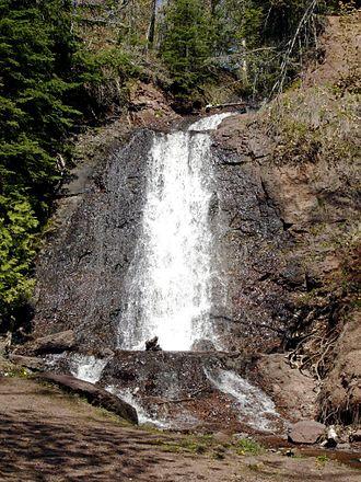 Keweenaw County, Michigan - Haven Falls, on Haven Creek near Lac La Belle