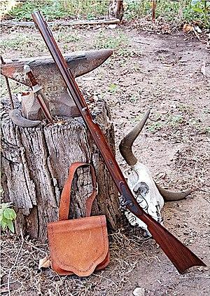 Hawken rifle - Lyman Replica of Plains Rifle