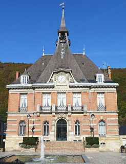 Haybes Commune in Grand Est, France