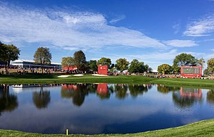 Hazeltine National Golf Club - Hazeltine during the 2016 Ryder Cup