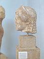 Head Kore ca 510 BC Museum Delos ZdeDelm226.jpg