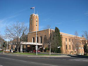 Ivanhoe, Victoria - Ivanhoe Town Hall