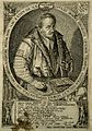 Heinrich Khunrath. Line engraving by J. Diricks van Campen, Wellcome V0003216.jpg