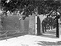 Helsingør. Poort en hekwerk langs de slotgracht op de buitenste toegangsweg van , Bestanddeelnr 189-0583.jpg