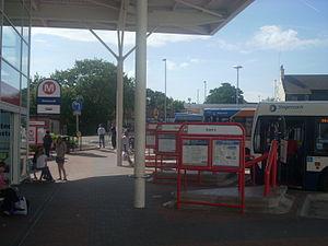 Hemsworth - Hemsworth bus station in August 2009