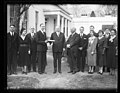 Herbert Hoover and group outside White House, Washington, D.C. LCCN2016889821.jpg