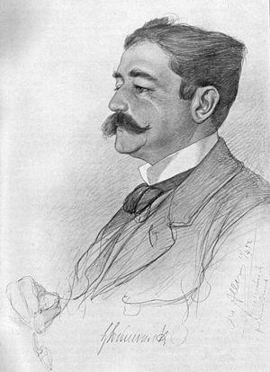 Herbert von Bismarck - Image: Herbert von Bismarck (C.W.Allers, 1892)