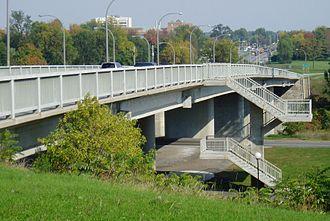 Heron Road Workers Memorial Bridge - The Heron Road Workers Memorial Bridge