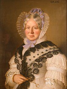 Anton Einsle: Herzogin Henriette von Württemberg, Öl auf Leinwand, 1838 (Quelle: Wikimedia)