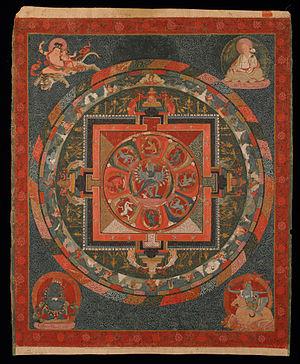 Hevajra - Image: Hevajra Mandala Google Art Project