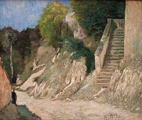Escalier à Montigny-sur-Loing