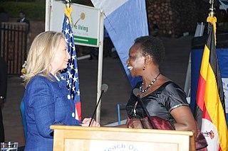 Christine Ondoa Minister of Health and member of Parliament of Uganda