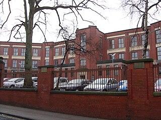 Hillhead High School School in Glasgow, Scotland