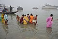 Hindu Devotees Taking Holy Dip In Ganga - Makar Sankranti Observance - Kolkata 2018-01-14 6795.JPG