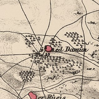Al-Damun Place in Acre, Mandatory Palestine